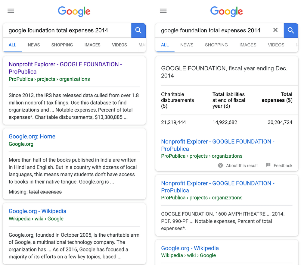 Google Datasets Schema Launches In Search Results