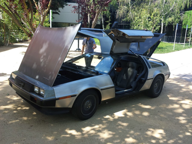 At Google This Week: The Delorean