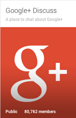 google+ discussions
