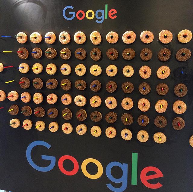 Google Donut Board