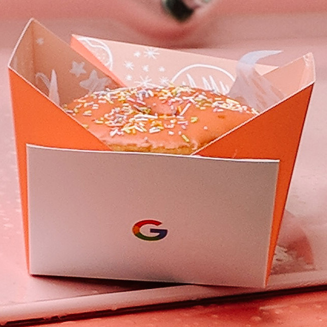 Google Donut Box