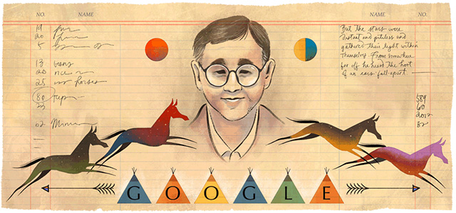 James Welch, Writer Of Fools Crow, Gets A Google Logo