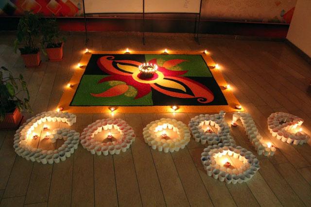 Google India Diwali Doodle