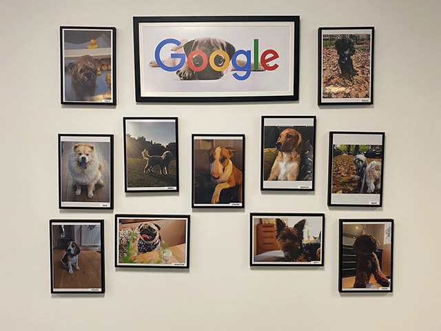 Google's Doogler Wall