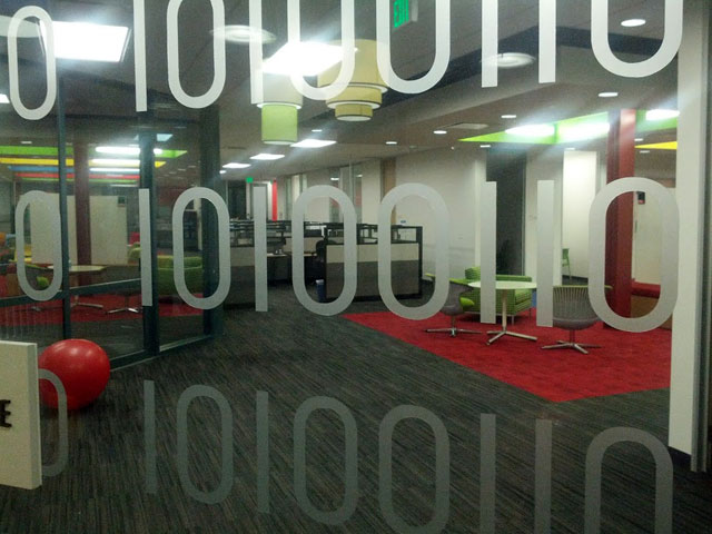 The Binary Google Door