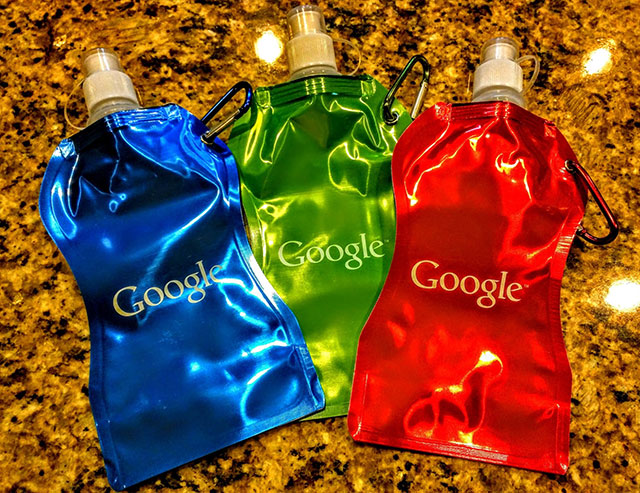 Google Drink Pouches