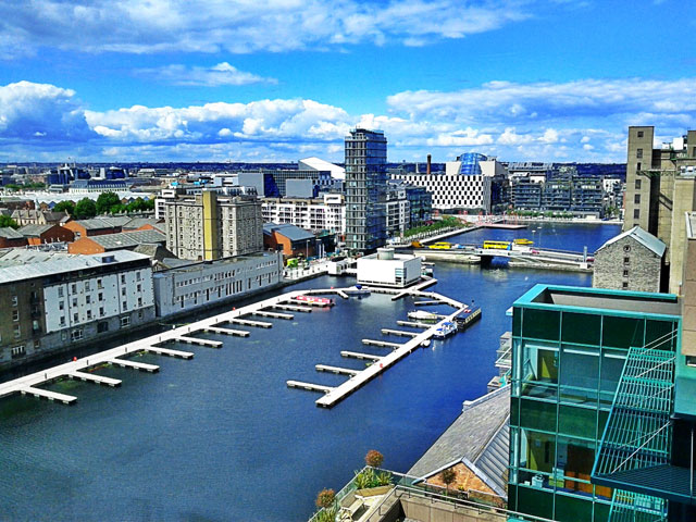 Google Dublin Office View