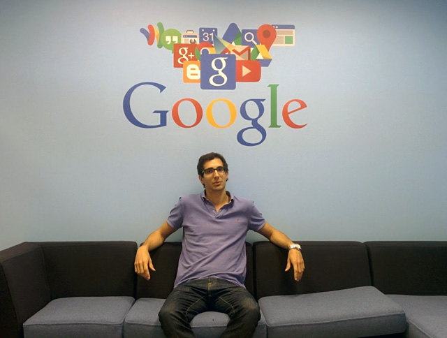 Google Dublin's New Google+ Hangout Studio