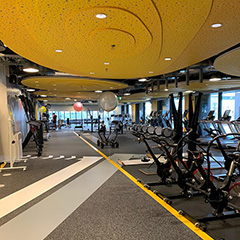 New Gym At Google Dublin