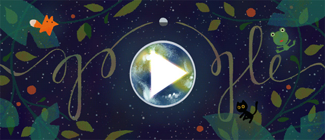 Google Earth Day Logo