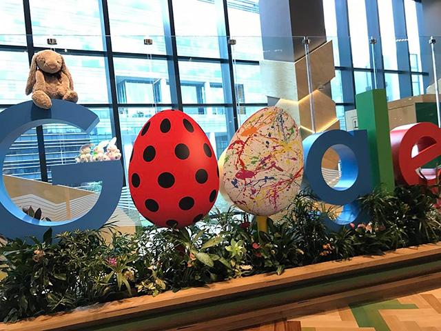 Google Easter Egg Signage