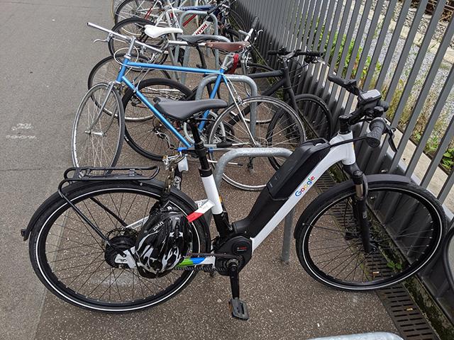 Google Electric Bikes
