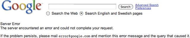 email error@google.com