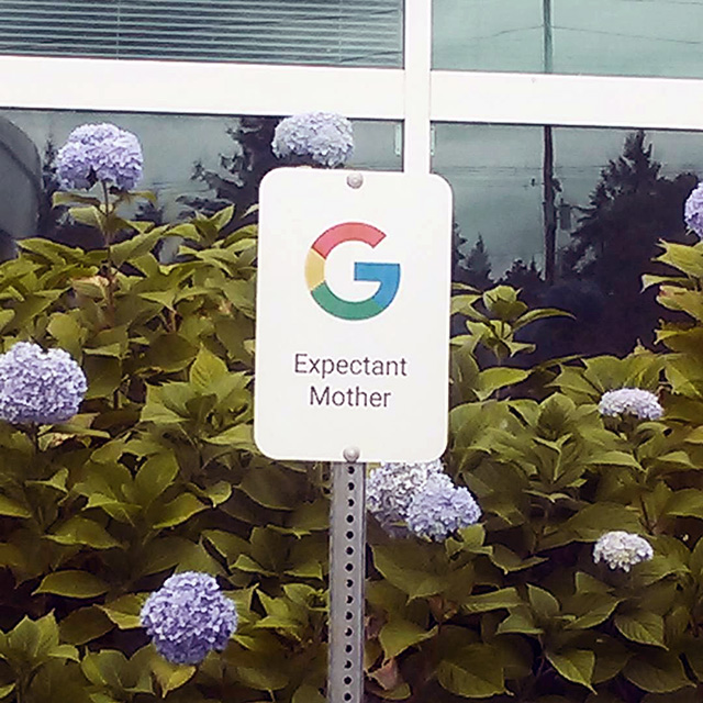 Google Expectant Mother Parking