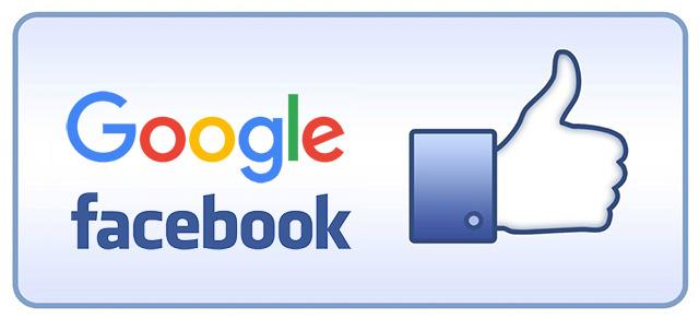 Google Facebook Likes
