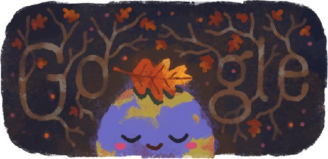 Fall Season Google Logo Bing Home Page