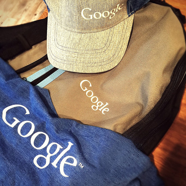 Google Schwag For Fall Season