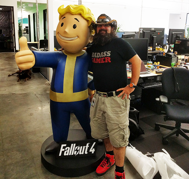 Google Adds Fallout 4 Life Size Statue To Office