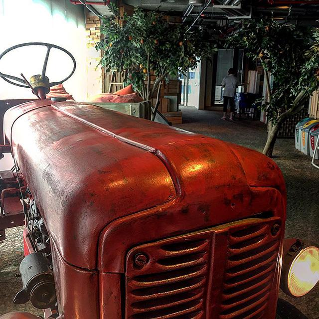 Google Farm Tractor