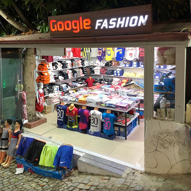 Google Fashion Retail Store