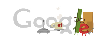 Google Fathers Day 2012 Logo