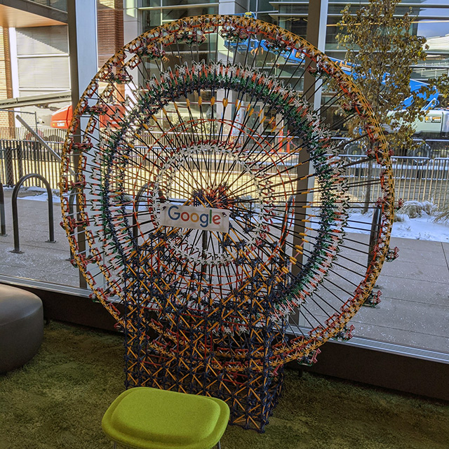 Google Ferris Wheel At Boulder Office