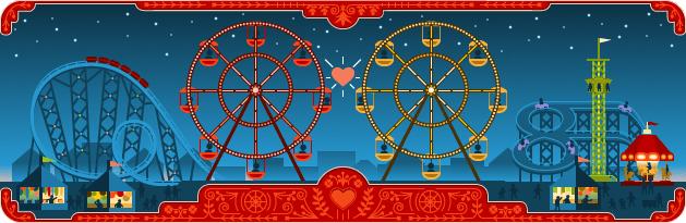 Google Valentine's Day 2013 Logo