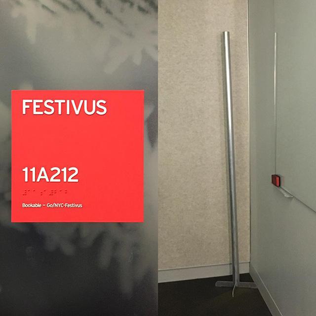 Google Festivus Conference Room