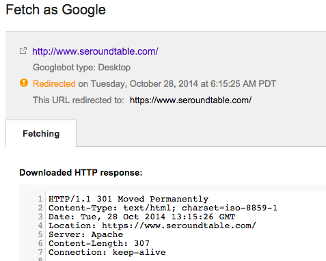 How Does Google Handle 307 Redirects Or HTTP Strict