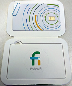 Google Project Fi SIM Card Picture