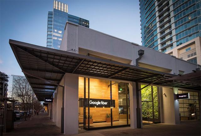 Google Fiber Office In Austin