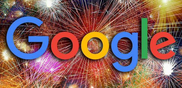 Search Google For Fireworks & Get A Fireworks Show