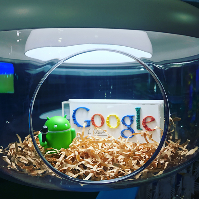 Google Fishbowl Light Fixture