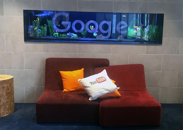 Google Toronto Fish Tank