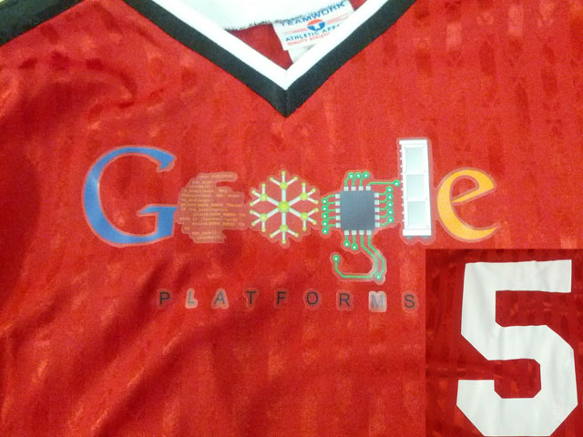 Google Five Year T-Shirt