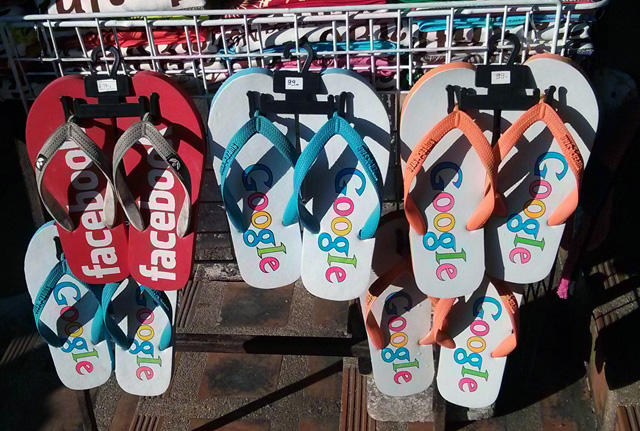 Google Flip Flops