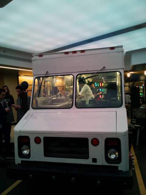 Google NYC Food Truck