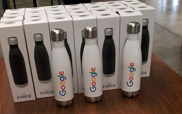 Google Force Water Bottles