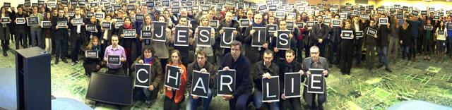 Google France Employees - Je Suis Charlie