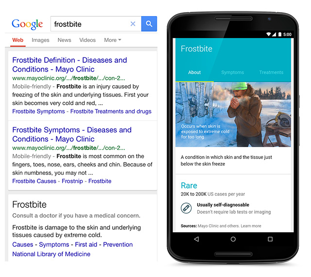 Google Health: Google Medical Conditions & Health Updated With Graphical Look