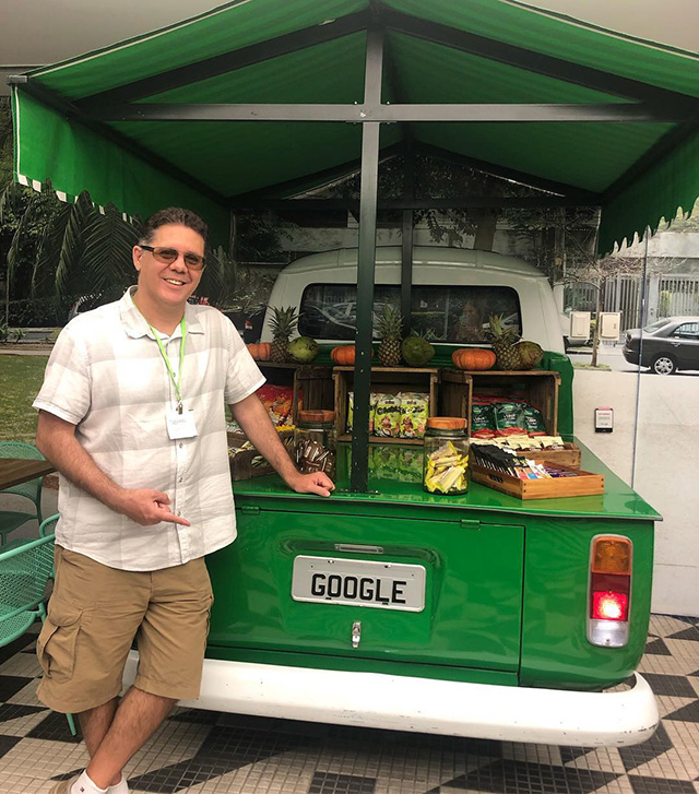 Google Fruit Truck