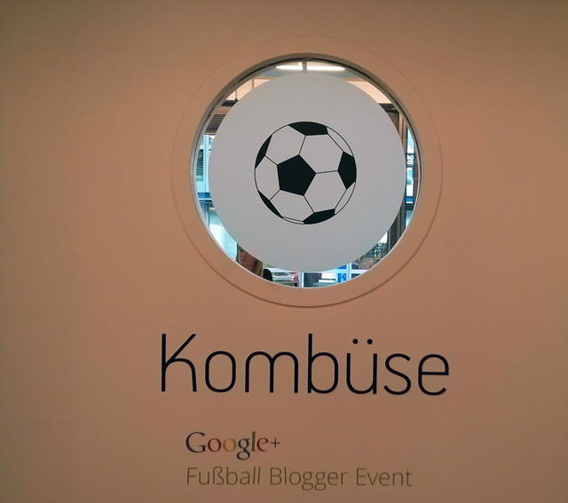 Google+ Fuβball Blogger Event