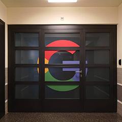 Google Zurich's G Door