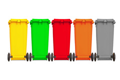 google garbage cans