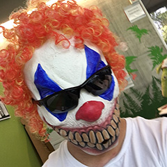 Gary Illyes Scary Google Clown Mask