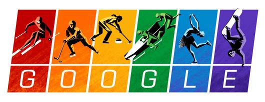 google gay olympics pride logo