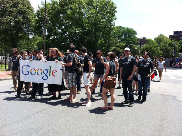 Google Boston Gay Pride Parade