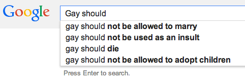 Google Search Suggests
