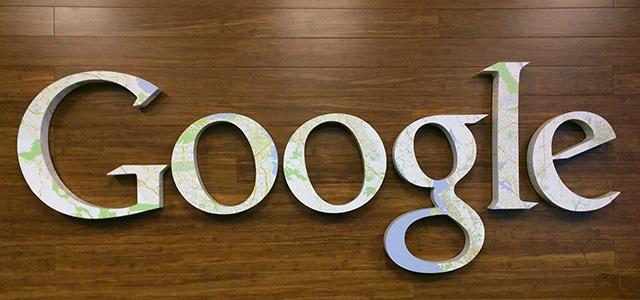 Google Geo Logo Sign