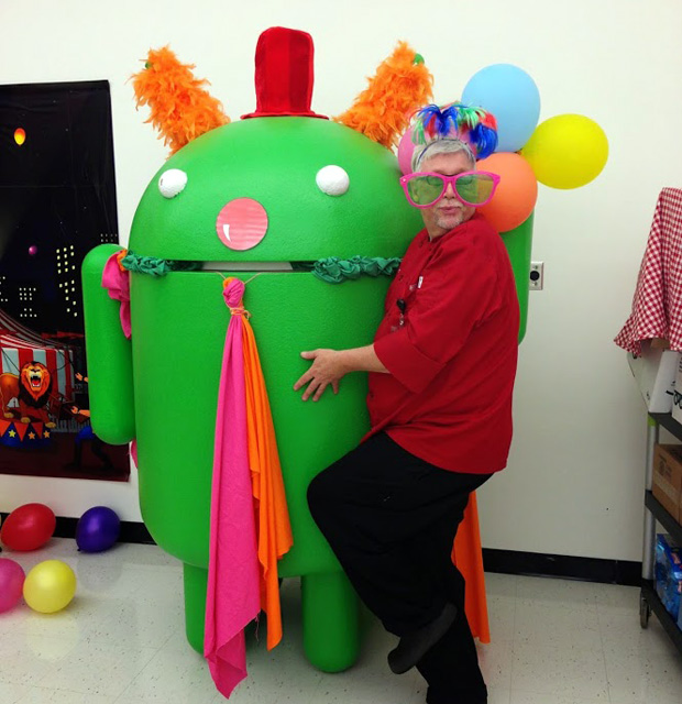 Dressing Up Android At Google Georgia